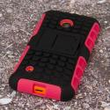 Nokia Lumia 530 - Hot Pink MPERO IMPACT SR - Kickstand Case Cover Angle 3