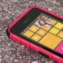 Nokia Lumia 530 - Hot Pink MPERO IMPACT SR - Kickstand Case Cover Angle 5