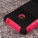 Nokia Lumia 530 - Hot Pink MPERO IMPACT SR - Kickstand Case Cover Angle 6
