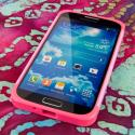 Samsung Galaxy S4 - Hot Pink / Mint MPERO Fusion Fit - Protective Case Angle 5