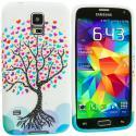 Samsung Galaxy S5 Love Tree TPU Design Soft Case Cover Angle 2