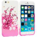 Apple iPhone 6 Plus 6S Plus (5.5) Spring Flowers TPU Design Soft Rubber Case Cover Angle 1