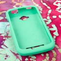 BLU Tank 4.5 - Mint Green MPERO SNAPZ - Rubberized Case Cover Angle 2