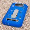 BLU Studio 5.5 - Blue MPERO IMPACT XL - Kickstand Case Cover Angle 3
