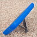 BLU Studio 5.5 - Blue MPERO IMPACT XL - Kickstand Case Cover Angle 4