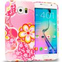 Samsung Galaxy S6 Pink Fairy Tale TPU Design Soft Rubber Case Cover Angle 1