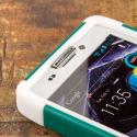 Motorola DROID RAZR MAXX HD XT926 - Teal Green MPERO IMPACT X - Stand Case Angle 5
