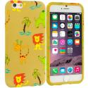 Apple iPhone 6 Plus 6S Plus (5.5) Zoo TPU Design Soft Rubber Case Cover Angle 1