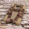 LG G Flex 2 - Hunter Camo MPERO IMPACT X - Kickstand Case Cover Angle 2