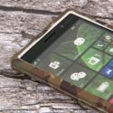 Nokia Lumia 830 - Green Camo MPERO SNAPZ - Case Cover Angle 4