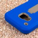 HTC One M9 - Blue MPERO IMPACT XS - Kickstand Case Cover Angle 6