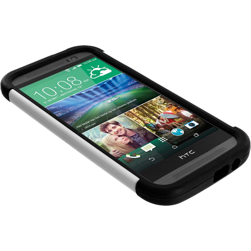 HTC make your own htc phone case : ... Rugged Hard/Soft Case Cover for HTC One M8 :: CellPhoneCases.com
