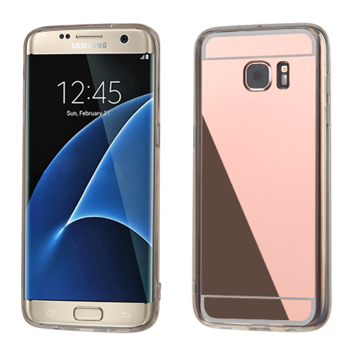 for samsung galaxy s7 edge rose gold clear gummy case. Black Bedroom Furniture Sets. Home Design Ideas