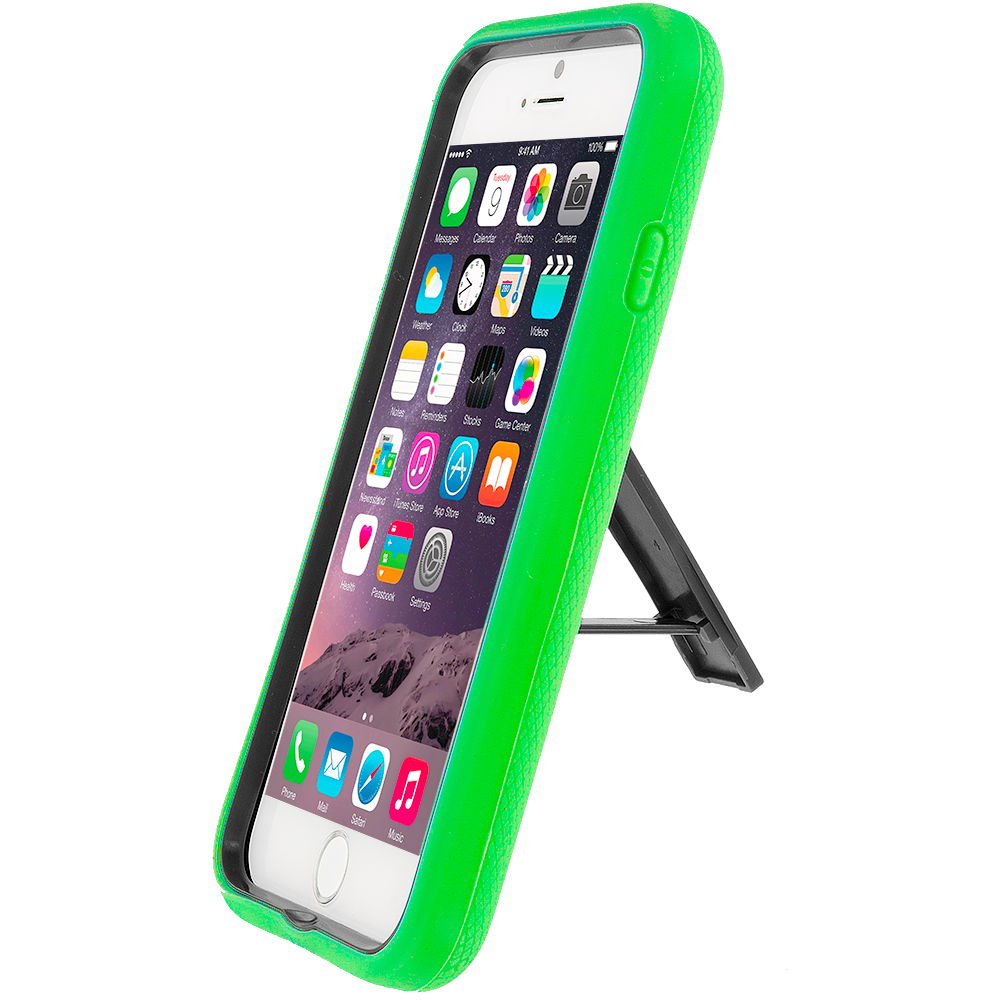 For Apple iPhone 6 (4.7) Hybrid Impact Shockproof Case
