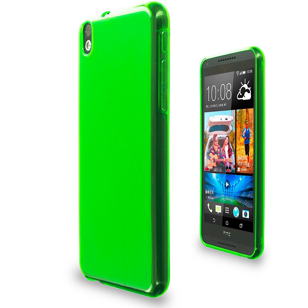 For HTC Desire 816 TPU Rubber Transparent Skin Case Cover ...