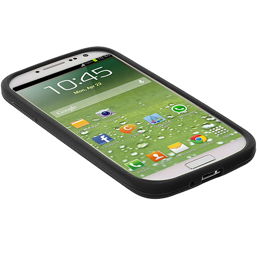 Color Silicone Rubber Gel Soft Skin Case Cover for Samsung Galaxy S4 S IV i9500