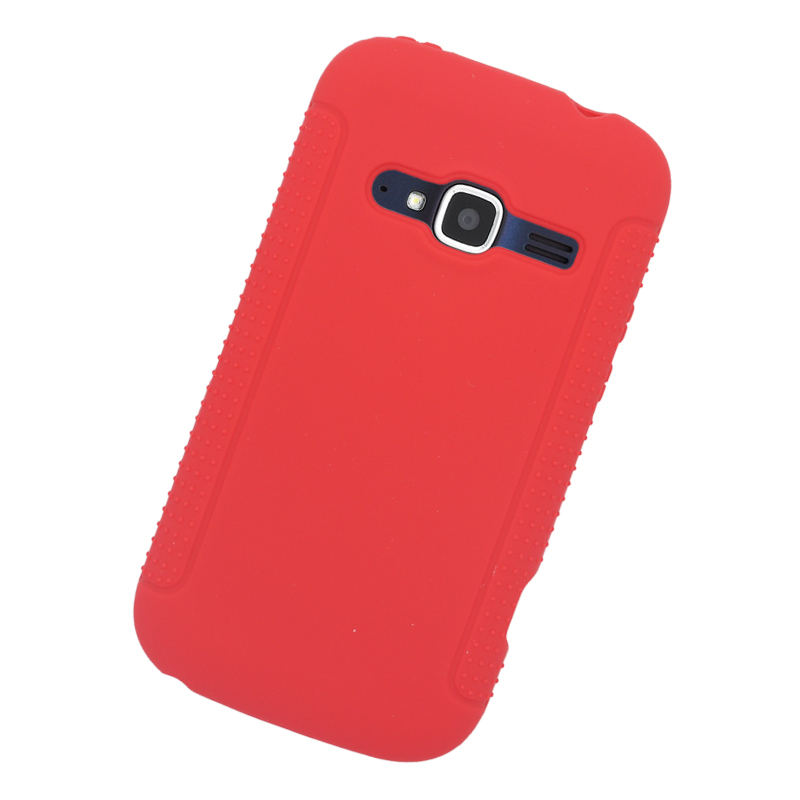 ... For ZTE Concord II Z730 (T-Mobile/Metr oPCS) Silicone Case Cover- Red