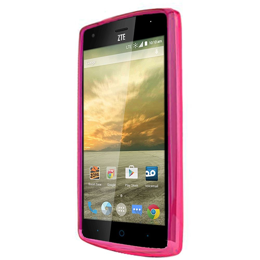 ... about For ZTE Warp Elite Rubber TPU Flexible Phone Skin Case Cover