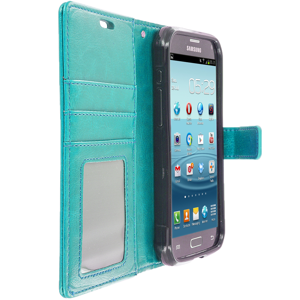 Samsung Galaxy S5 Active PROWORX Wallet Pouch Case With Credit Card Money Slot