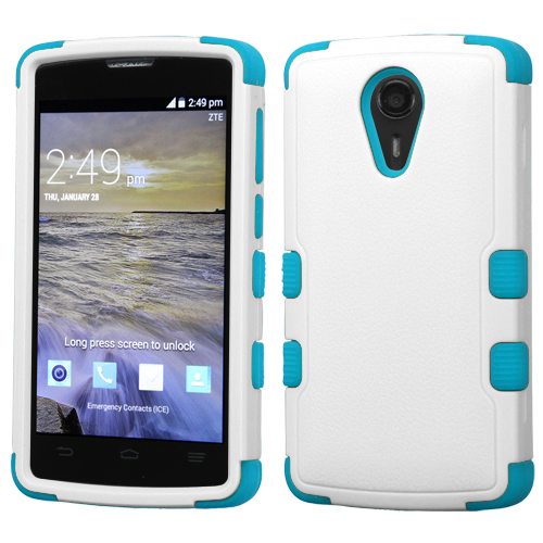 For ZTE Uhura N817 Hybrid TUFF IMPACT Phone Case Hard ...