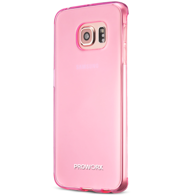 For Samsung Galaxy S6 Edge Plus PROWORX Premium TPU Rubber ...