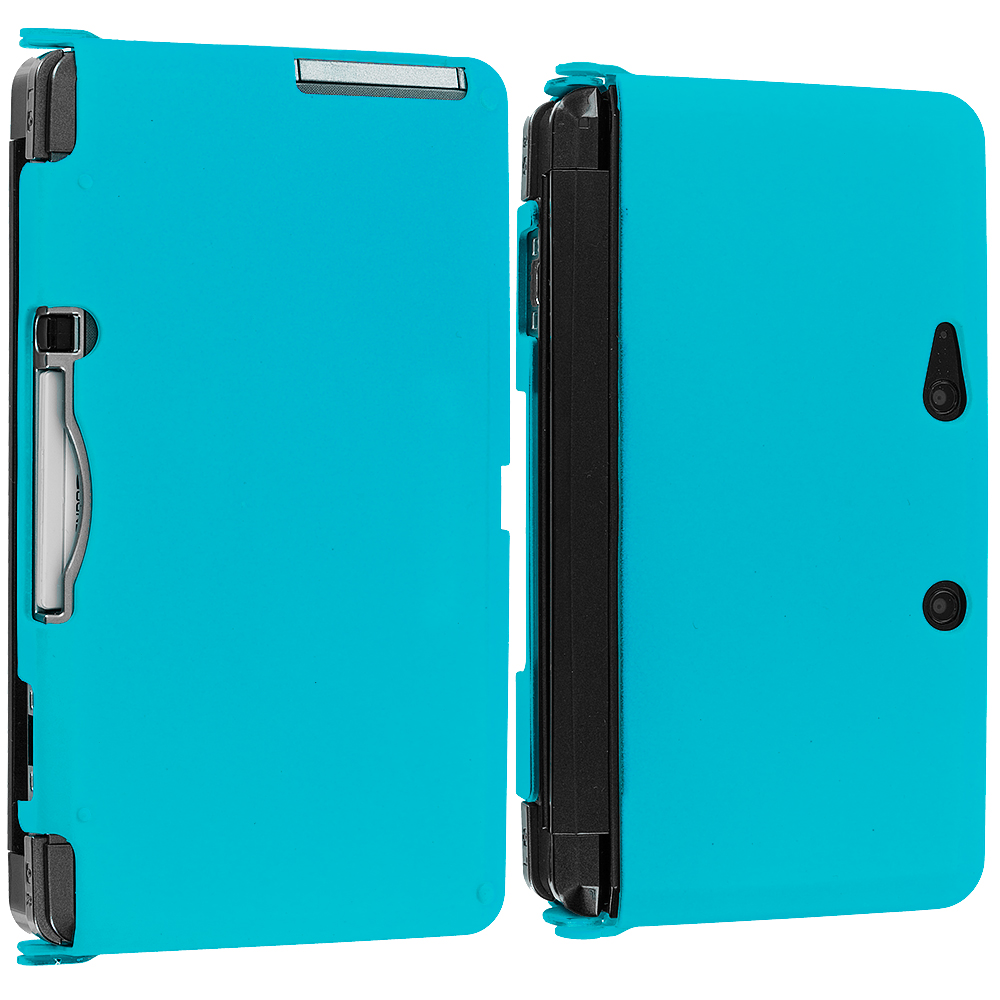 Nintendo 3ds Colors Cases Color Hard Snap-On Rub...