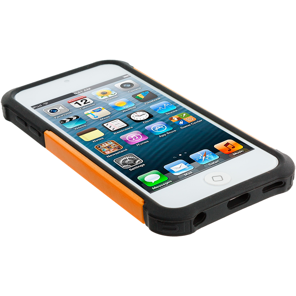 For-Apple-iPod-Touch-5th-Generation-5G-5-Hybrid-Shockproof-Hard-Matte-Case-Cover