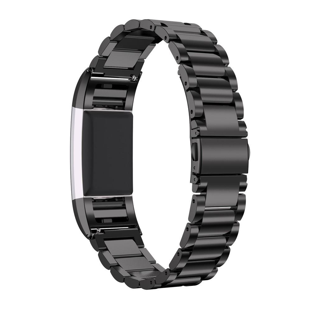 for fitbit charge 2 milanese stainless steel band bracelet strap clasp metal ebay. Black Bedroom Furniture Sets. Home Design Ideas