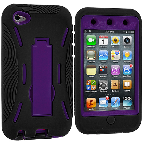 For-Apple-iPod-Touch-4th-Generation-4G-Hybrid-Heavy-Duty-Rugged-Case-Cover-Stand