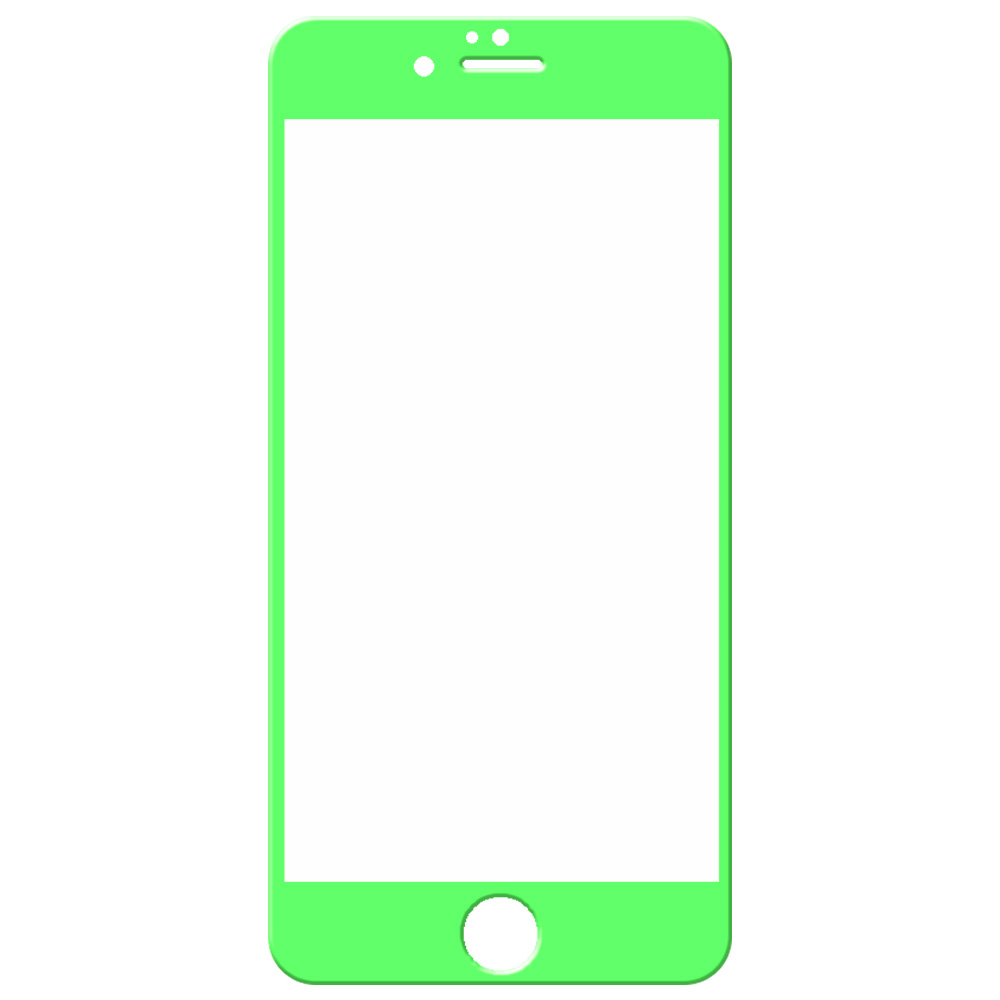 Iphone S Colored Screen Protector