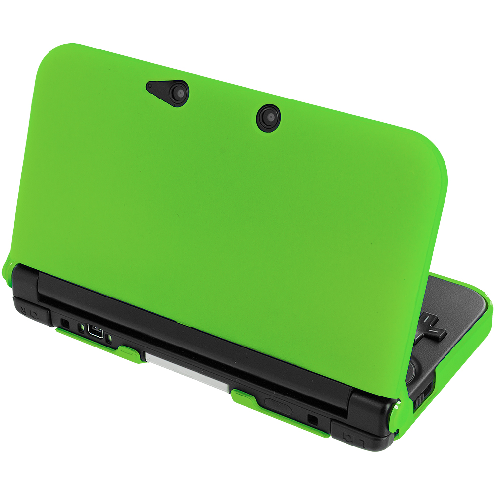 Nintendo 3ds Colors Cases Neon Green Hard Snap-O...