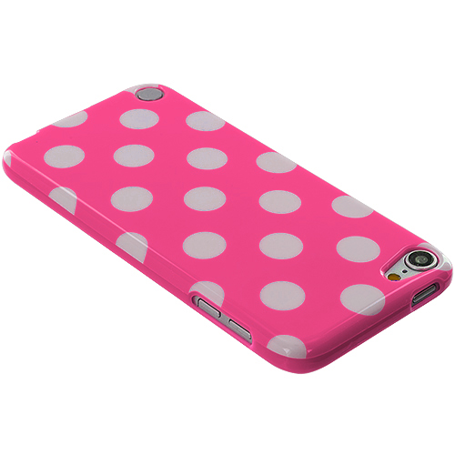 Polka-Dot-Color-TPU-Rubber-Case-Cover-Accessory-for-iPod-Touch-5th-Gen-5G-5
