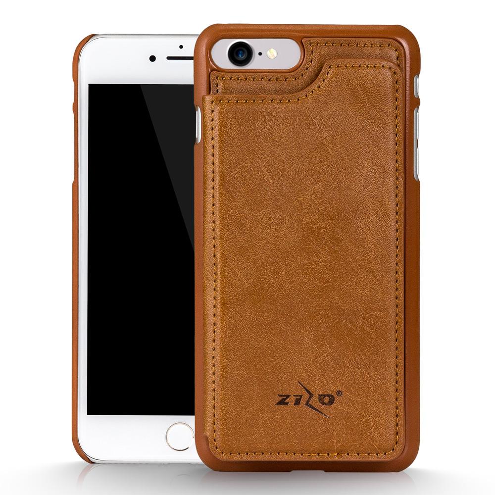 for iphone 7 premium hard case cover wallet folio brown. Black Bedroom Furniture Sets. Home Design Ideas