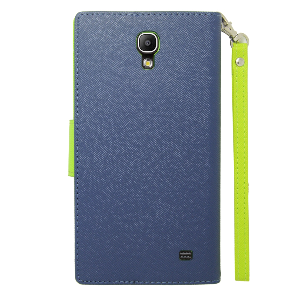 For Samsung Galaxy Mega 2 Wallet Flip Case TPU With Card ...