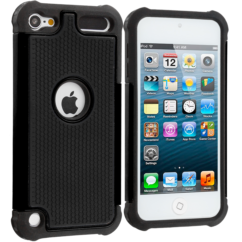 for apple ipod touch 6th generation 6g hybrid rugged skin. Black Bedroom Furniture Sets. Home Design Ideas