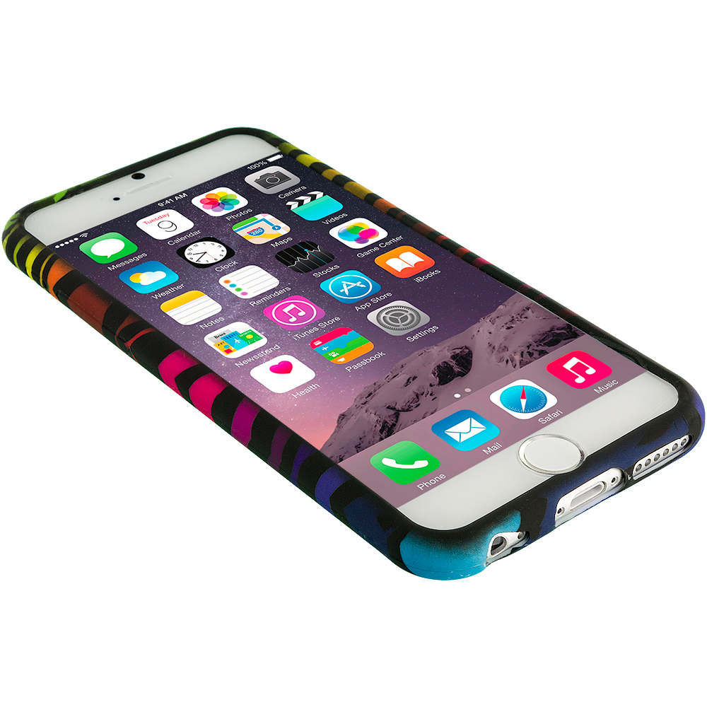 for apple iphone 6 4 7 tpu design silicone rubber soft
