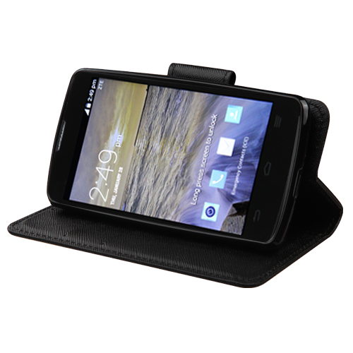 was greenish- zte n817 wallet case android auto memory